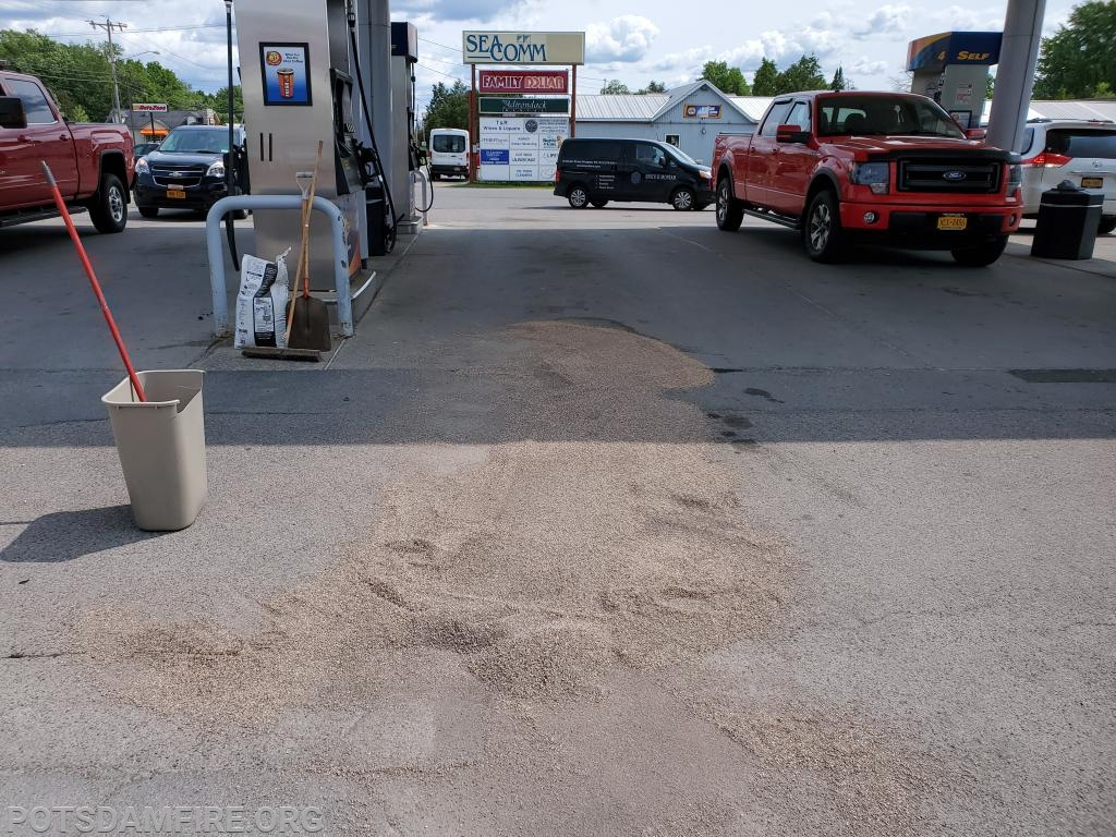 Fuel spill Sunoco