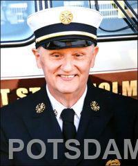 West Stockholm Fire Chief Robert E. White, Jr.